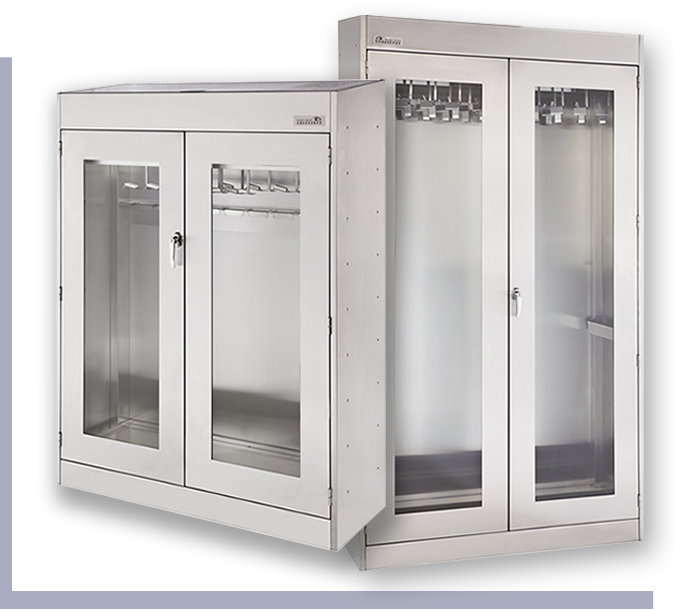 endoscope cabinets management