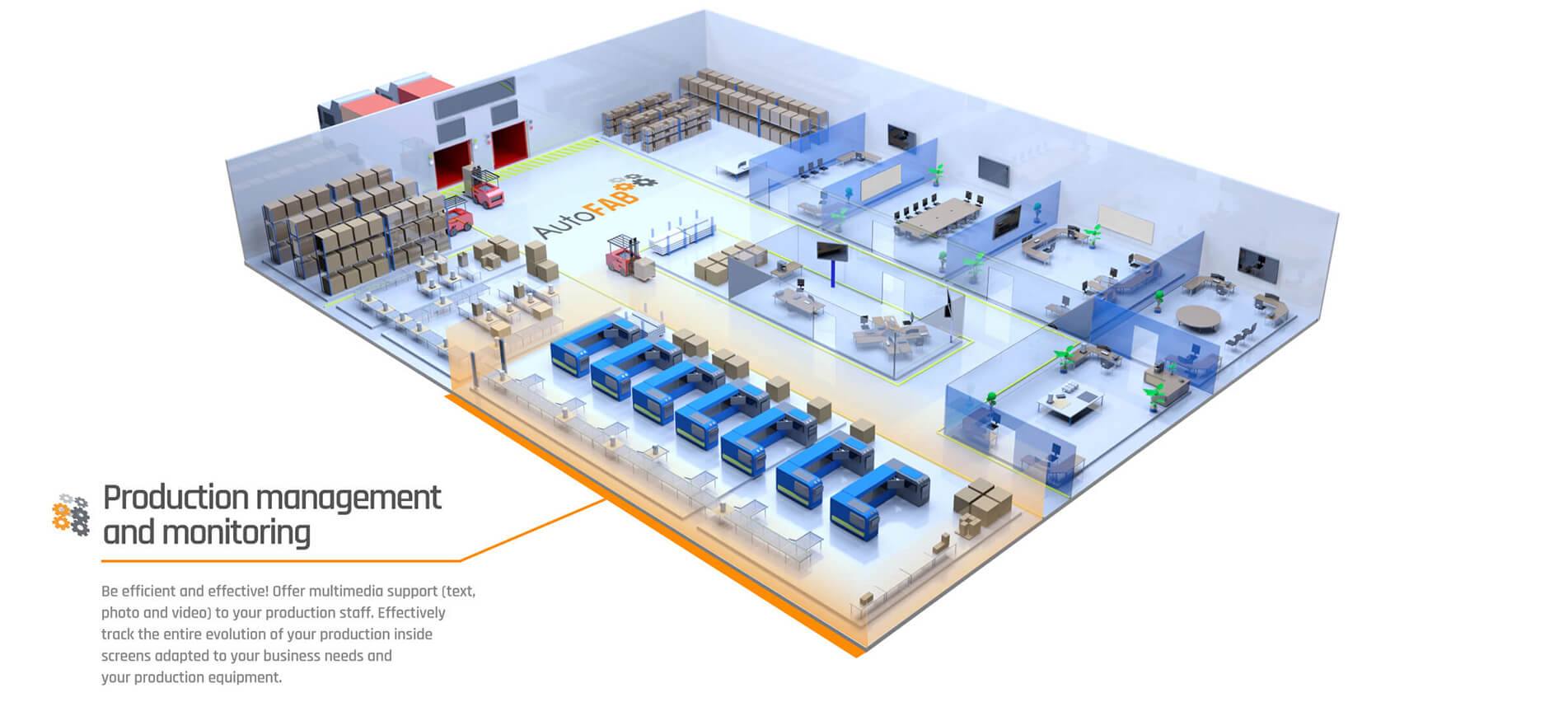 autofab Production management and monitoring
